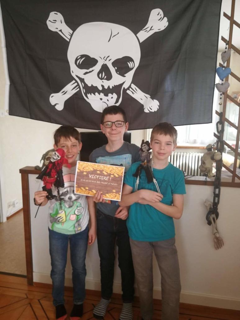 Escape Game à imprimer Pirate