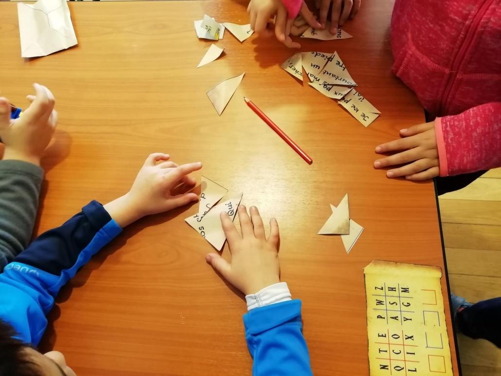 enfants classe escape game jeu