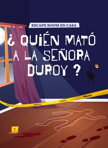 juego de escape room - juego de cluedo - jovenes y adultos - escape room en casa
