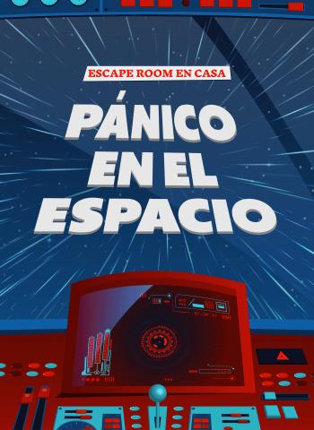 Panico en el Espacio - juego de Escape room casa - juego espacial nasa
