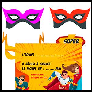 Super-héros vignette 3