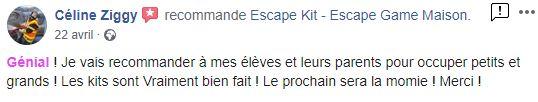 avis escape game kit enfant