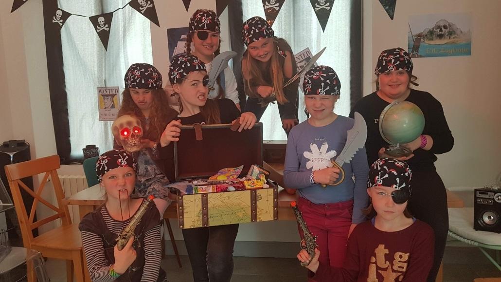anniversaire escape game sur le thème des pirates