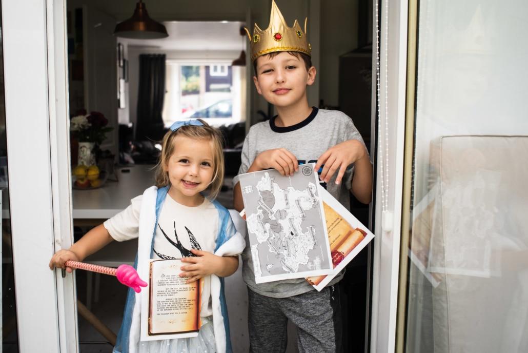 Escape Game prince et princesse