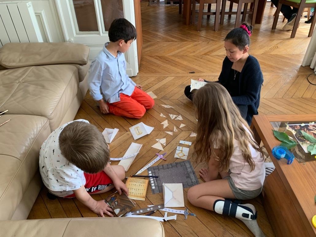 grupo jugadores niños cumpleaños