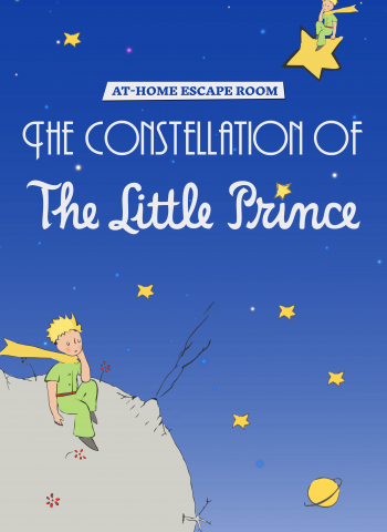 The constellation of the Little Prince - At-home Escape Room - Escape Kit