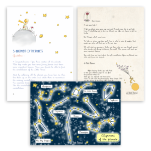 The Little Prince Escape Room Kit - Printing game