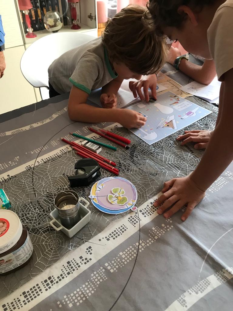 The constellation of the Little Princze - At-home Escape Room