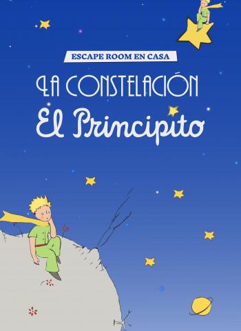 La constelacion del Principito - Escape Room en casa - Escape Kit