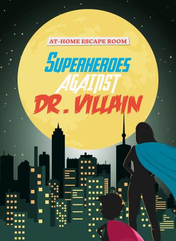 Superheroes escape room to do at home marvel dc comics