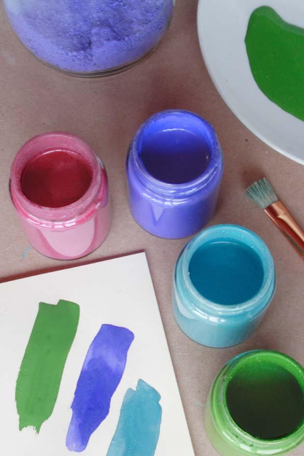 Recette peinture DIY Enfants