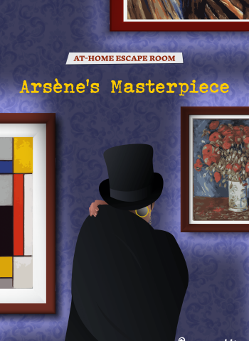 at-home escape room arsene lupin masterpiece escape kit teens and adults